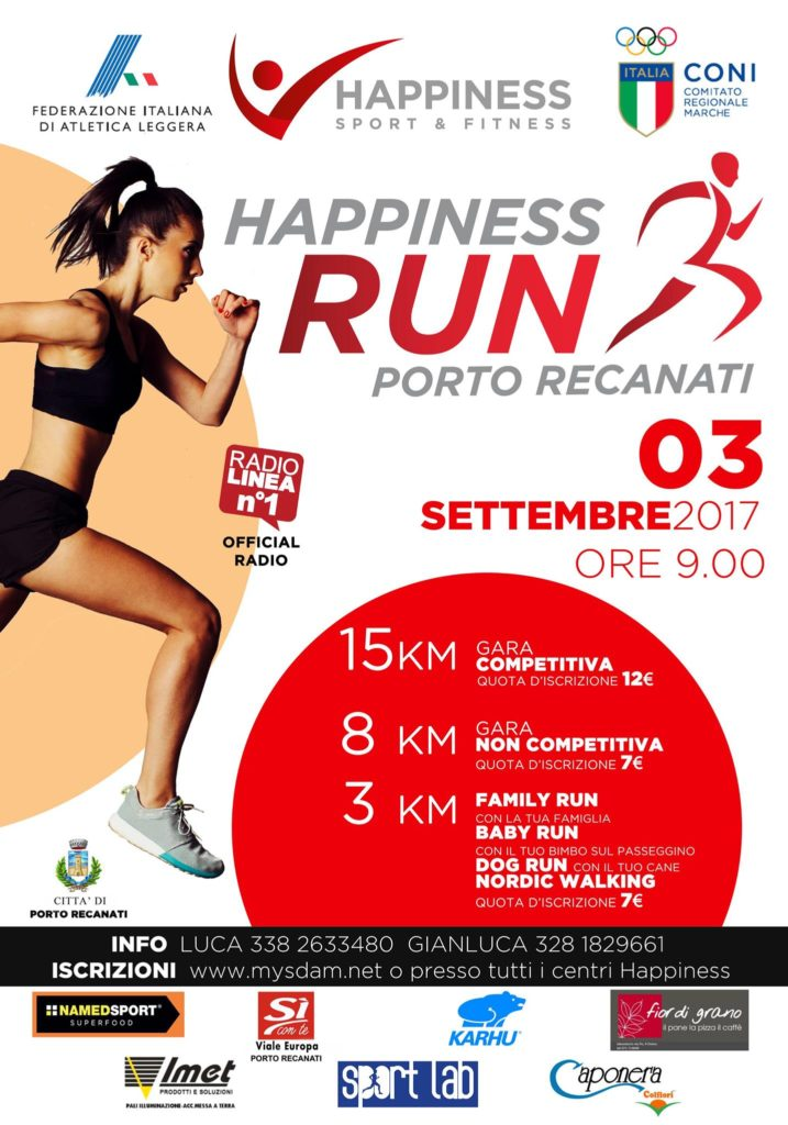 HAPPINESS RUN Porto Recanati