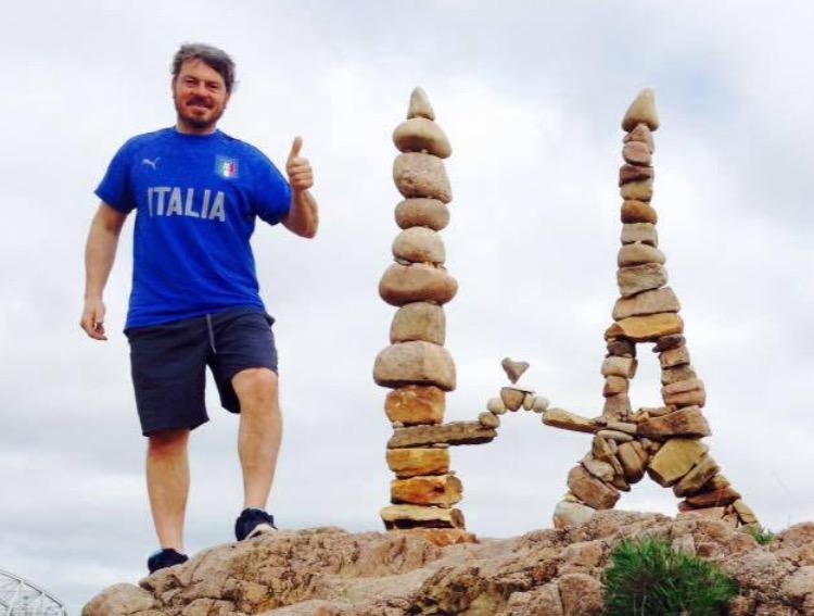 """Andrea Mei """" Campione del Mondo di Stone Balance"""""""